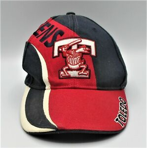 Toledo Mud Hens Minor League Baseball Hat Cap Size Small / Medium Red Stripe