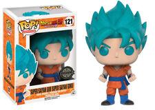 Funko Pop - Vinyl - Dragon Ball Super 121 Super Son Goku God Blue Exclusive Neuf