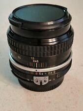 Nikon Nikkor 50mm 1:2 Camera Lens Made in Japan