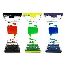 Classic Toy Fidget Timer Liquid Motion Zig Zag Drop Colorful Bubble Gravity Fun