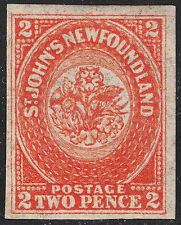 NFLD 2d orange, Scott 11, VF MOG, catalogue - $1,200