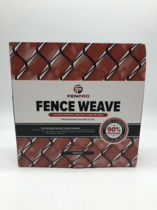 Privacy Fence Chain Link Weave - 250ft. Roll - REDWOOD