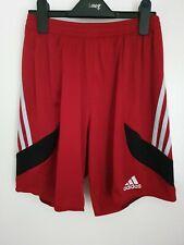 Pantalón corto para hombre Talla S Adidas Rojo