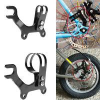 Adjustable Bicycle Bike Disc Brake Bracket Frame Adaptor Mounting Holder SALE