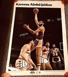 Rare 1977-78 Studio One Poster Kareem Abdul Jabbar 24x36 LA Lakers