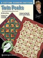 Twin Peaks A cutting corners pattern Cozy Quilt Designs