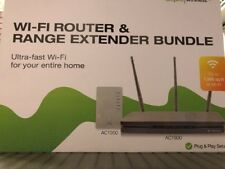 Amped Wireless Ultra Fast Wi-Fi Router and Range Extender Bundle AC1900/AC1200