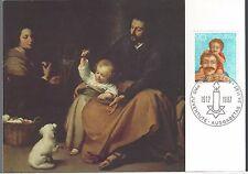 1987 Switzerland  FDC Semi-Postal Painting PC