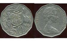 AUSTRALIE  50 cents 1983  ANM