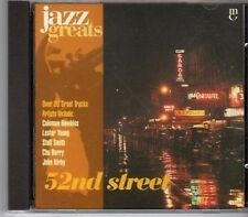 (CA166) 52nd Street, 21 tracks - 1997 Jazz Greats CD No 035