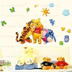 Kids Room Decor Mural Wall sticker Winnie The Pooh
