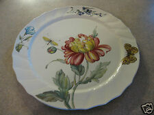 """Villeroy & Boch Bouquet Retired Large 13"""" Charger Round Platter Luxembourg"""