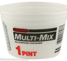 (25) Leaktite 1M3 1 Pint Multi-Mix All Purpose Empty Paint Mixing Containers