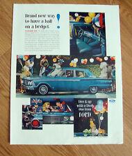 1962 Ford Fairlane 500 Sedan Ad  at a Masquerade Party