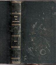 L'ECHO DES FEUILLETONS 3e année 1843 ILLUS. GEORGE SAND ALEXANDRE DUMAS E. SUE