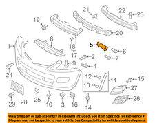 MAZDA OEM 10-13 3 Rear Bumper-Retainer Bracket Right BBM4502H1E