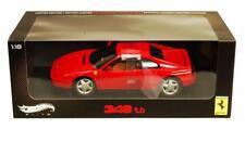 1/18 Hot Wheels Ferrari 348 TB Elite Edition Diecast Model Car Red V7436