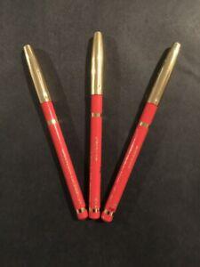 Lancôme Le Crayon Contour Color Lip Pencil Orange  - Full Size - New SET OF 3