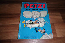 Carla + VILHELM HANSEN -- Petzi # 11 -- viaggia intorno al mondo // Carlsen 1974