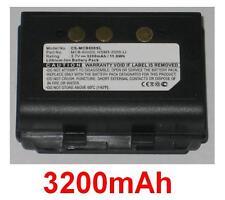 Batería 3200mAh tipo HSM3-2000-Li MCB-6000S Para M3 Móvil