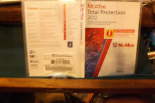 McAfee Total Protection 2012 with product registration number