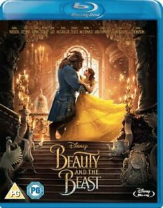 BEAUTY AND THE BEAST (LIVE ACTION) BLU-RAY [UK] NEW BLURAY