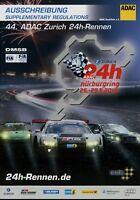 ADAC Ausschreibung 24h Nürburgring 2016 5/16 Rennen Rennsport Motorsport Auto