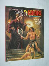Conan de Barbaar Koning Thoth Amon! the Barbarian King 1981 Thomas & Buscema 6