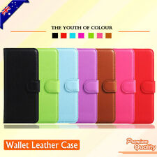 OnePlus 5 5T 6 6T 7 Pro 3 3T Premium Leather Wallet Card Holder Flip Case Cover