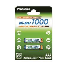 Panasonic Microakku HHR-4EPT/BA2 AAA 930mAh 2er Pack 2x 1,2V 930mAh NiMH