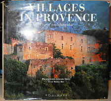 VILLAGES IN PROVENCE Gerard Sioen & Serge Bec 1998 Equinoxe 1st Ed Hardcover