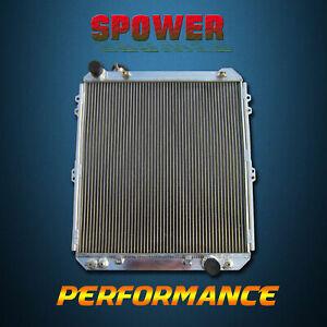 Aluminum Radiator For Toyota Hilux Surf KZN130 3.0TDi Diesel 92-96 AT/MT 3 Rows