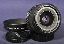 Minolta MD 2,8 x 28mm - Weitwinkel Objektiv letzte Version für X-700 XD-7 XG-9..
