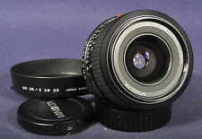 Minolta MD Rokkor 2,8 x 28mm - Weitwinkel Objektiv für X-700 XD-7 XG-9..