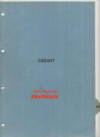 Honda CB500T DOHC Twin (75-78) Genuine Factory PDI Set-Up Manual CB 500 T BZ54