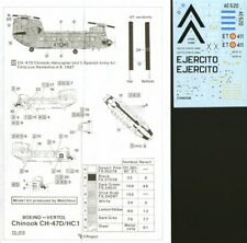 HI DECAL 1/72 Chinook 1 / Boeing ch-47 #72012