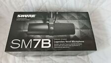 More details for brand new sealed* shure sm7b vocal dynamic microphone broadcast podcast xlr