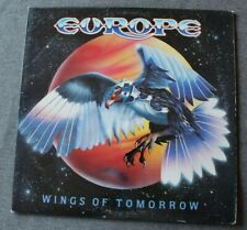 Europe, wings of tomorrow, LP - 33 tours USA