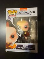 Funko Pop Animation: Avatar - Zuko With Box Damage