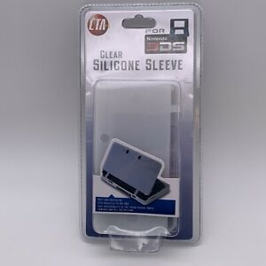 Nintendo 3DS Clear Silicone Sleeve New in Package