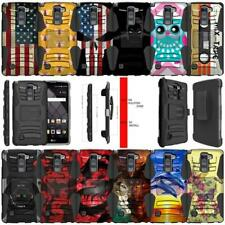 For LG Stylo 2 Plus   LG Stylus 2 + Dual Layer Kickstand and Holster Combo Cover