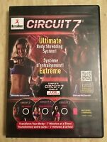 Circuit 7 Ultimate Body Shredding System 3 DVD set Ripcords Free Weights Core