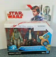 Star Wars Hasbro Force Link Han Solo BOBA Fett Ages 4+ New