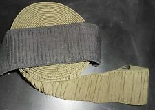 """80mm / 3"""" PLEATED ELASTIC WEBBING (2 COLOURS) Craft/Hobby X 3 METRES"""