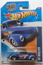 2011 Hot Wheels '41 Willys Col. #152 (Blue Version)