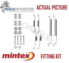 NEW MINTEX REAR BRAKE SHOES SET FITTING KIT PIN SPRINGS GENUINE QUALITY MBA756