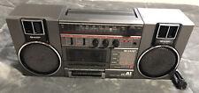 Sharp GF-A1(D) Ghetto Blaster AM/FM Radio Cassette Recorder Boombox - Working