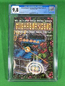 MICHAELANGELO Teenage Mutant Ninja Turtle 1 - Mirage TMNT - CGC 9.8 White - 1986