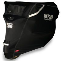 Oxford Protex Stretch Outdoor Premium Motorcycle Stretch-Fit Cover - Large CV162