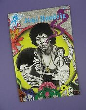 Jimi hendrix Comic - 1st Print 1990 - Signed by Comic Creater - Unused Stock !